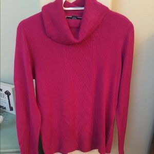 Sweaters - Karen Scott Cable Stitched Sweater